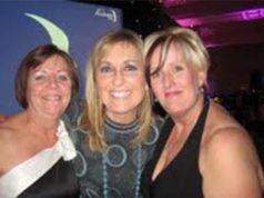 Carolyin Goble, Fiona Phillips and Pam Stopforth
